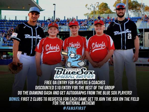 Blue Sox Outing Schedule