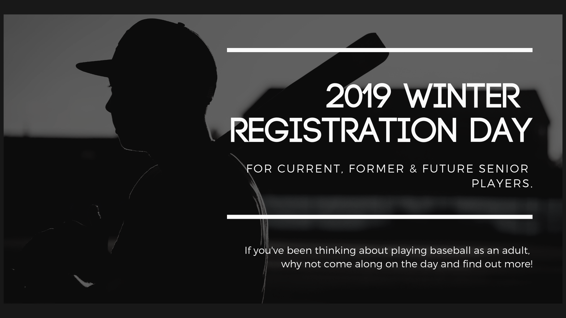 2019 winter registration day